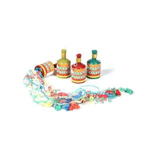 Art. 0116A Bottigliette Lancia Stelle Filanti